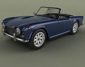 3D Triumph TR5 1968