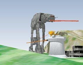 Battle planet STAR WARS 3D