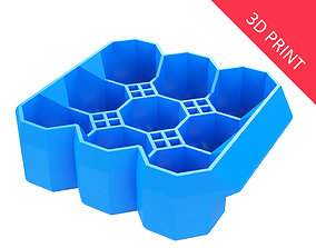 3D printable model Crate Unity 04 for 9 Cans 350ml