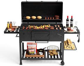 3D Barbecue set