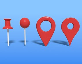 Map Pointer 3D asset