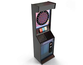 Game Dart Machine 3D model