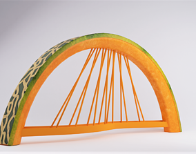 Honeydew Bridge 3D asset
