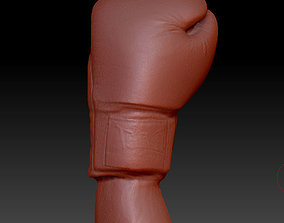 3d 3D printable model Boxing glove