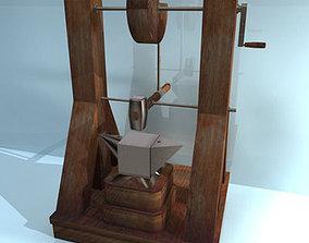 3D model Leonardo Automatic Hammer Machine