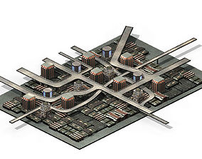 Future World - Residential Area 10 3D model