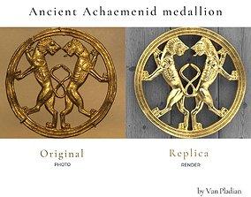 ancient achaemenid medallion 3D print model