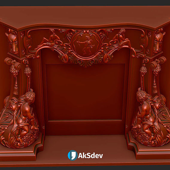"fireplace ""Cupid"""