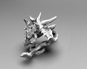 3D print model Crawling Demonic Screamer wih tentacles