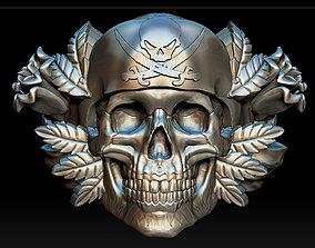 fantasy-and-fictional-creature 3D print model Skull ring