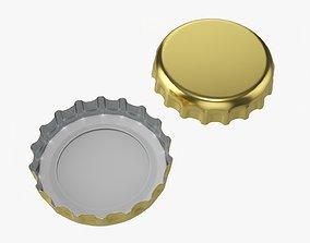 Beer cap 02 3D model