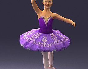3D model Ballet dancer 1109
