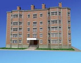 3D building Apartment Building