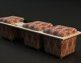 Arabic waiting seat 3D model