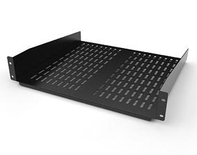 3D StarTech 2U Rack Shelf