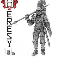 3D printable model Heresylab - Steam Punk Ted Axel