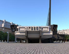 3D asset VR / AR ready cultural center