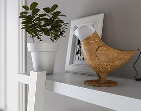 Marinas bird 3d model