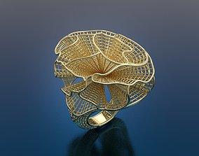 Ring ultra vision 3D print model jewellery