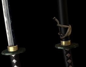 fight Katana 3D model