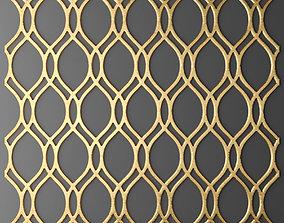 Panel lattice grille 3D 60