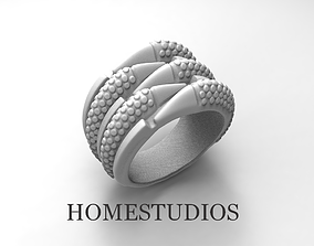3D printable model RING DRAGONS CLAWS BASE FORM