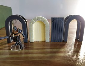 Jigs to print with a resin printer for foam