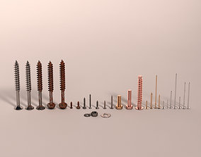 Screws and Nails HD V2 3D