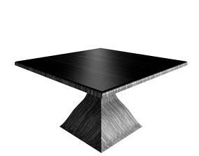 3D model Dinning table - R series - 10