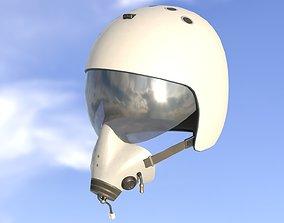 Flight Helmet 3D asset