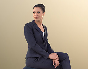 Diana 10868 - Business Woman Sitting 3D model