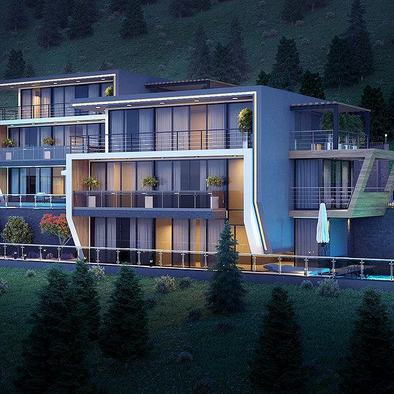 Villa in Alanya/Antalya/Turkey