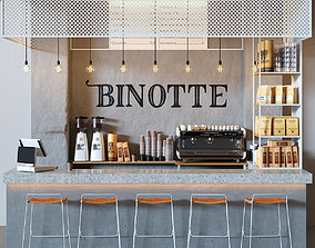 3D model Cafe Binotte v2