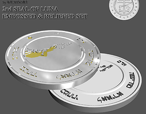 2nd Seal of Luna 3D printable model