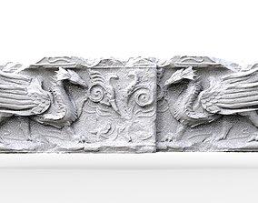 Dragon Ancient Wall design 3D model