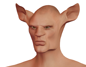 Character Fantasy High-poly male 01 3D