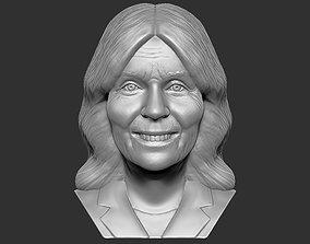 Jill Biden bust 3D printing ready stl obj
