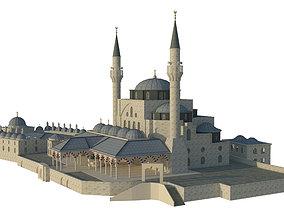 Mihrimah Sultan Mosque 3D model