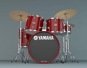 3D model Yamaha Drums Kit