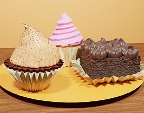 3D sugar Cakes