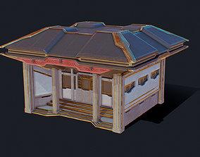 Zen Future Town House 2 3D asset
