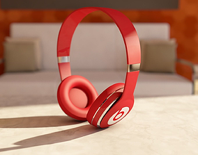 Beats Solo Headphone 3D model