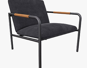 Wesley Lounge Chair 3D model