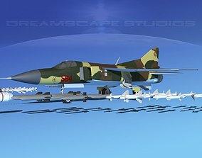 3D Mig 23 Flogger B V12 East Germany