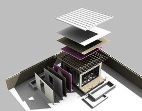 3D model Backyard Studio or Shed