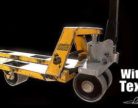 Industrial Factory Hand Pallet 3D asset