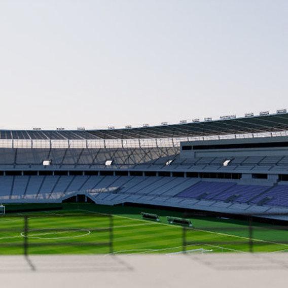 Ajinomoto Stadium 3D Model Tokyo
