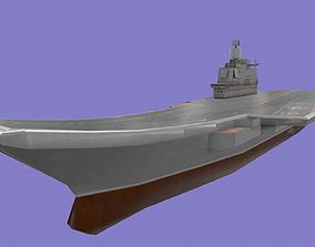 Admiral Kuznetsov 3D asset