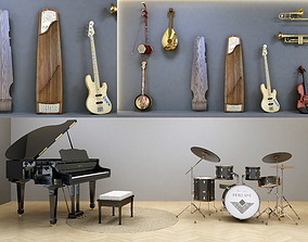 Musical Instruments 3D model