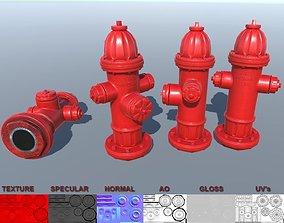 3D asset Fire Hydrant